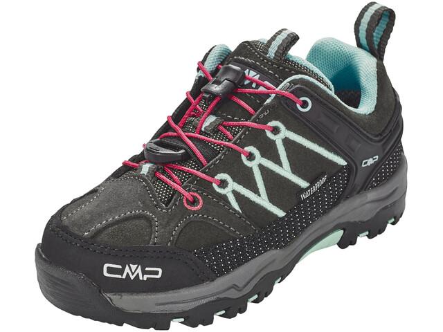 CMP Campagnolo Kids Rigel Low WP Trekking Shoes Arabica-Sky Light